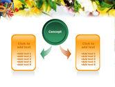 Flower Ornamentation PowerPoint Template#4