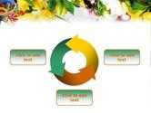 Flower Ornamentation PowerPoint Template#9