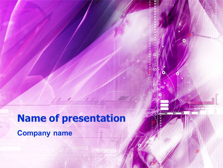 Lilac Space PowerPoint Template