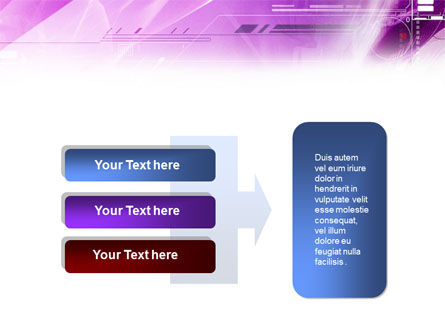 Lilac Space PowerPoint Template Slide 11