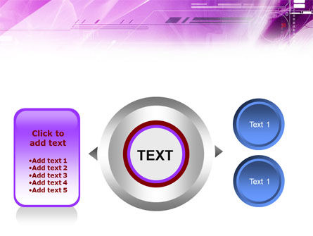 Lilac Space PowerPoint Template Slide 12