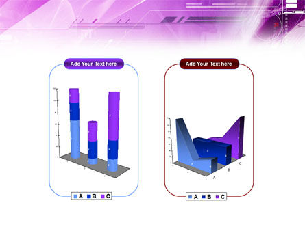 Lilac Space PowerPoint Template Slide 13