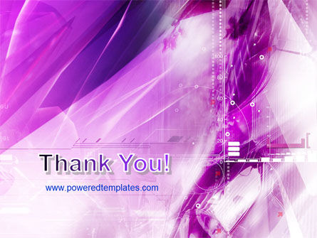 Lilac Space PowerPoint Template Slide 20