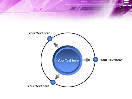 Lilac Space PowerPoint Template Slide 7