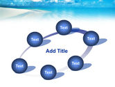 Palm Trees at the Seaside PowerPoint Template#14