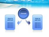 Palm Trees at the Seaside PowerPoint Template#4