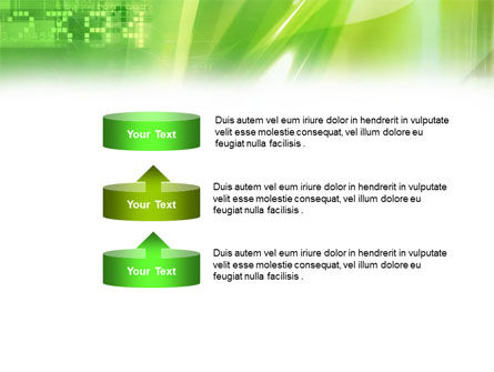 Green PowerPoint Template Slide 10