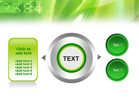 Green PowerPoint Template Slide 12