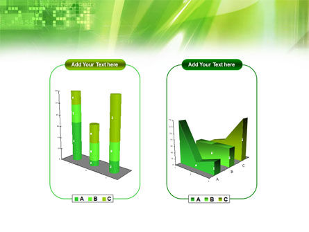 Green PowerPoint Template Slide 13