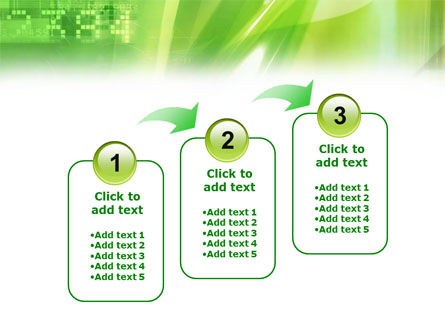 Green PowerPoint Template Slide 14