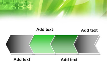 Green PowerPoint Template Slide 16