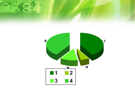 Green PowerPoint Template Slide 17