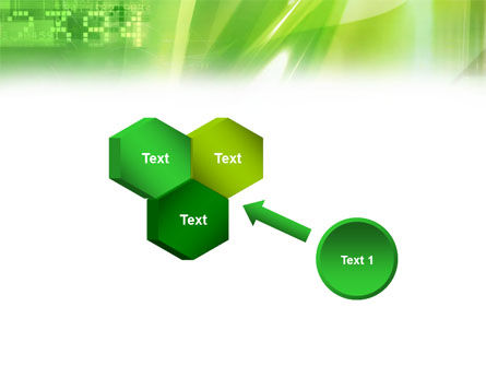 Green PowerPoint Template Slide 19