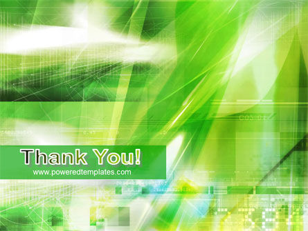 Green PowerPoint Template Slide 20