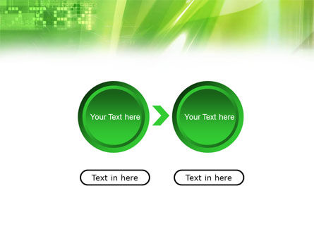 Green PowerPoint Template Slide 5