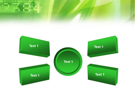 Green PowerPoint Template Slide 6