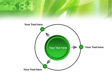 Green PowerPoint Template Slide 7