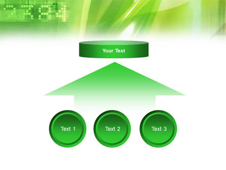 Green PowerPoint Template Slide 8