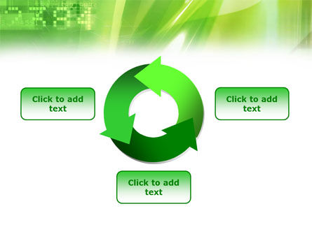 Green PowerPoint Template Slide 9