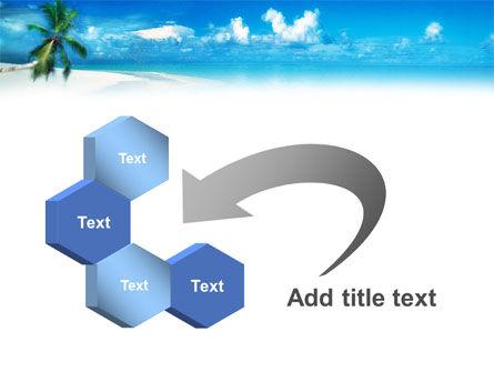 Beach Girl PowerPoint Template Slide 11