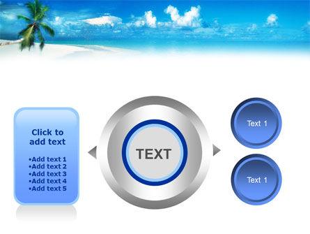 Beach Girl PowerPoint Template Slide 12