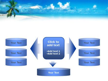 Beach Girl PowerPoint Template Slide 13