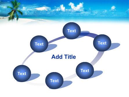 Beach Girl PowerPoint Template Slide 14