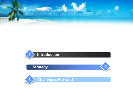 Beach Girl PowerPoint Template, Slide 3, 01372, Careers/Industry — PoweredTemplate.com