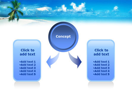 Beach Girl PowerPoint Template, Slide 4, 01372, Careers/Industry — PoweredTemplate.com