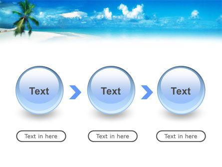 Beach Girl PowerPoint Template Slide 5