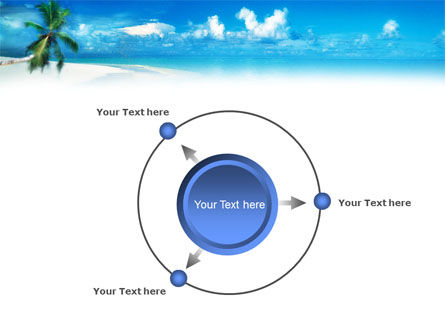 Beach Girl PowerPoint Template Slide 7
