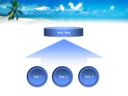 Beach Girl PowerPoint Template Slide 8