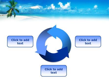 Beach Girl PowerPoint Template Slide 9