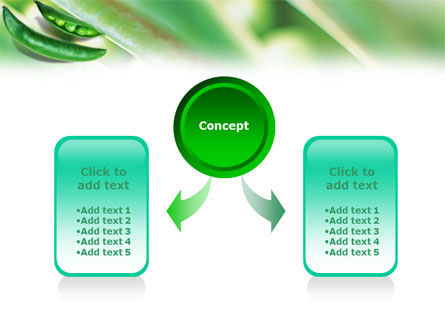 Pea Pod PowerPoint Template Slide 4