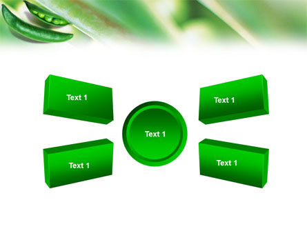 Pea Pod PowerPoint Template Slide 6
