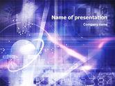 Technology and Science: Plantilla de PowerPoint - exploración espacial #01378