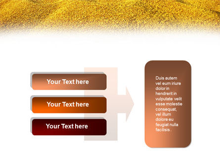 Heap of Grain PowerPoint Template Slide 11