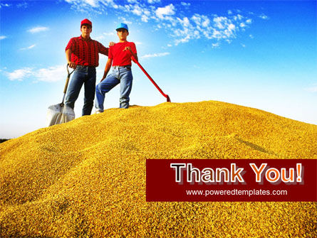 Heap of Grain PowerPoint Template Slide 20
