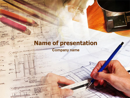 Careers/Industry: Architecture Design Development PowerPoint Template #01386