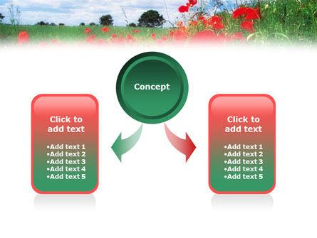 Poppy Field PowerPoint Template Slide 4