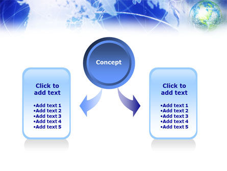 Global View PowerPoint Template, Slide 4, 01389, Global — PoweredTemplate.com