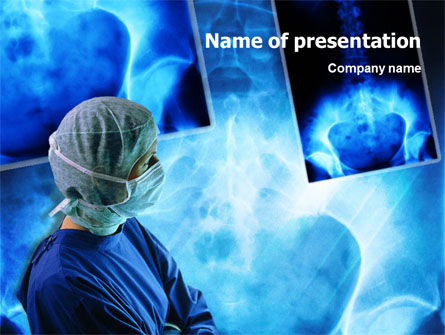 Medical: Traumatic Surgery PowerPoint Template #01390