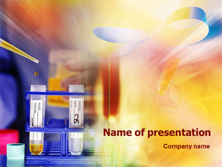 Medical: Medical Research PowerPoint Template #01394