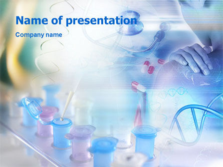 Medical Examination and Prescriptions PowerPoint Template