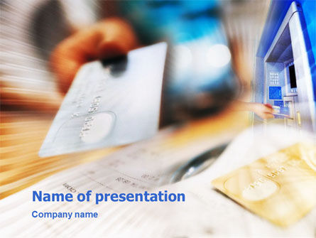 Credit Card Payment PowerPoint Template