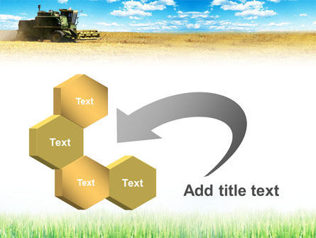 Harvester in the Field PowerPoint Template Slide 11