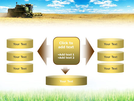 Harvester in the Field PowerPoint Template Slide 13