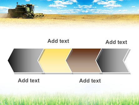 Harvester in the Field PowerPoint Template Slide 16