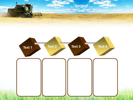 Harvester in the Field PowerPoint Template Slide 18