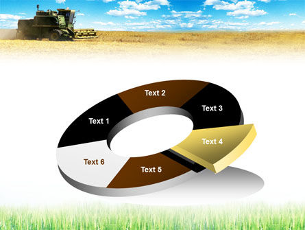 Harvester in the Field PowerPoint Template Slide 19